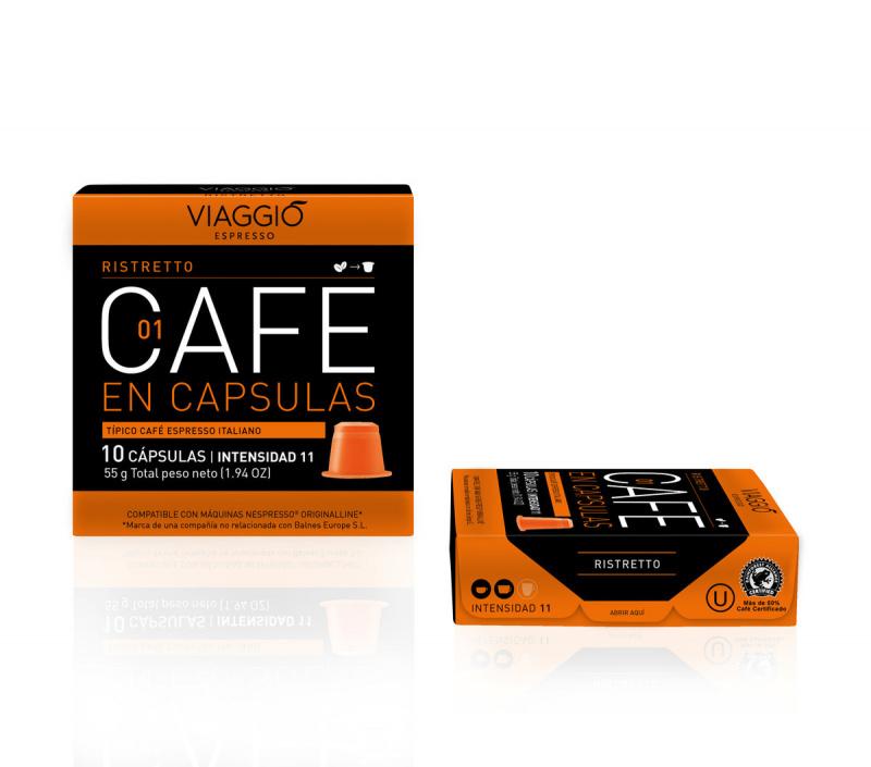 Viaggio Espresso Ristretto 咖啡膠囊 (A-01-F-10-M12)