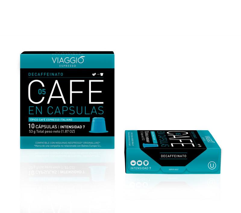 Viaggio Espresso Decaffeinato 咖啡膠囊 (A-05-F-10-M12)