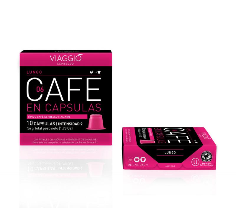 Viaggio Espresso Lungo咖啡膠囊 (A-06-F-10-M12)