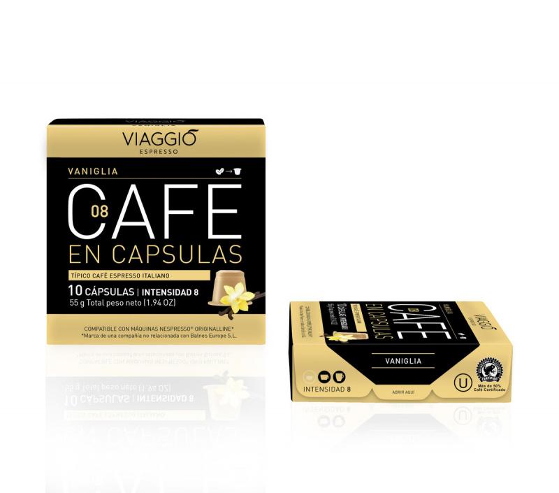 Viaggio Espresso Vaniglia咖啡膠囊 (A-08-F-10-M12)