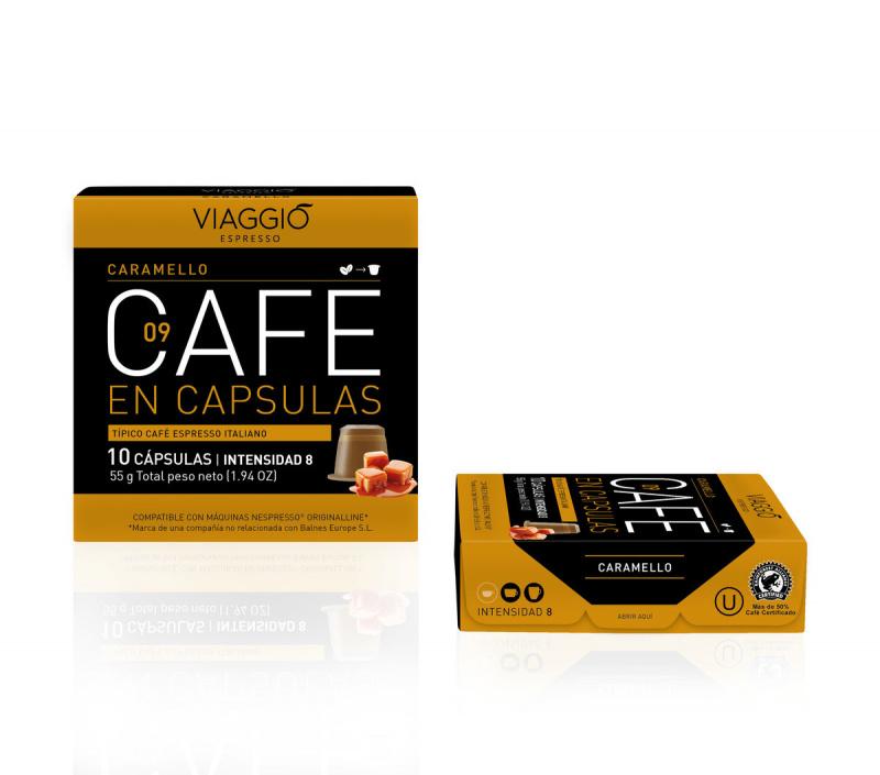 Viaggio Espresso Caramello咖啡膠囊 (A-09-F-10-M12)