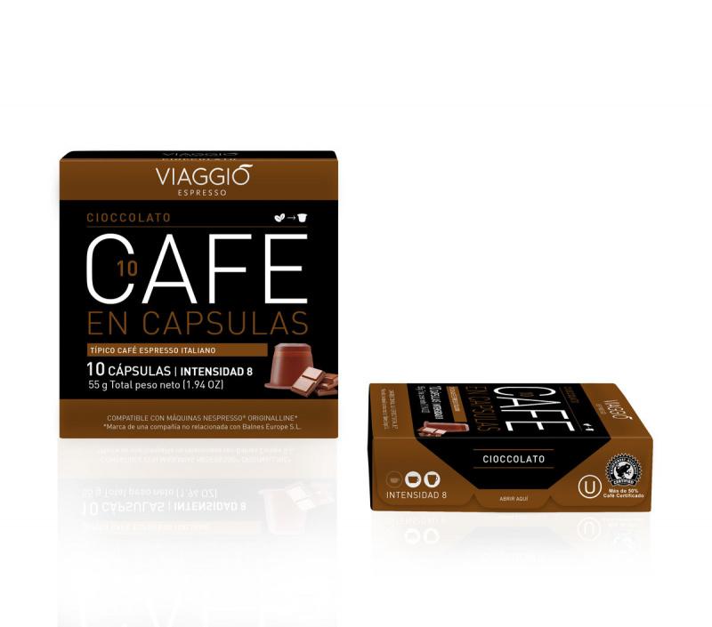 Viaggio Espresso Cioccolato咖啡膠囊 (A-10-F-10-M12)