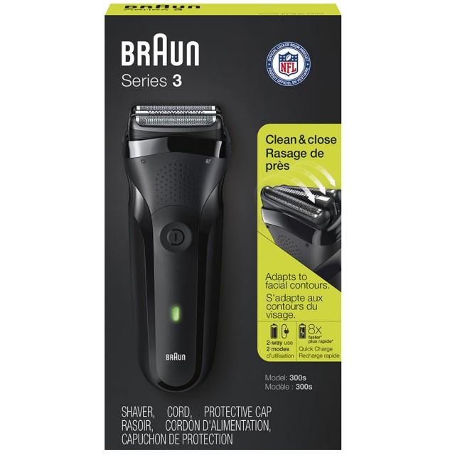 Braun Series 3 300s 乾濕兩用電鬚刨