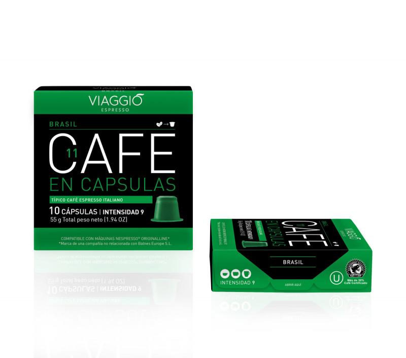 Viaggio Espresso Brasil 咖啡膠囊 (A-11-F-10-M12)