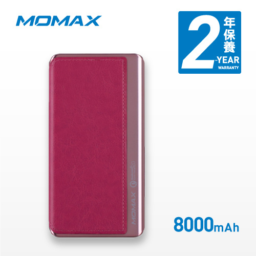 Momax iPower Elite 便攜式充電池QC2.0 8000mAh 連Micro USB 連接線 [5色]