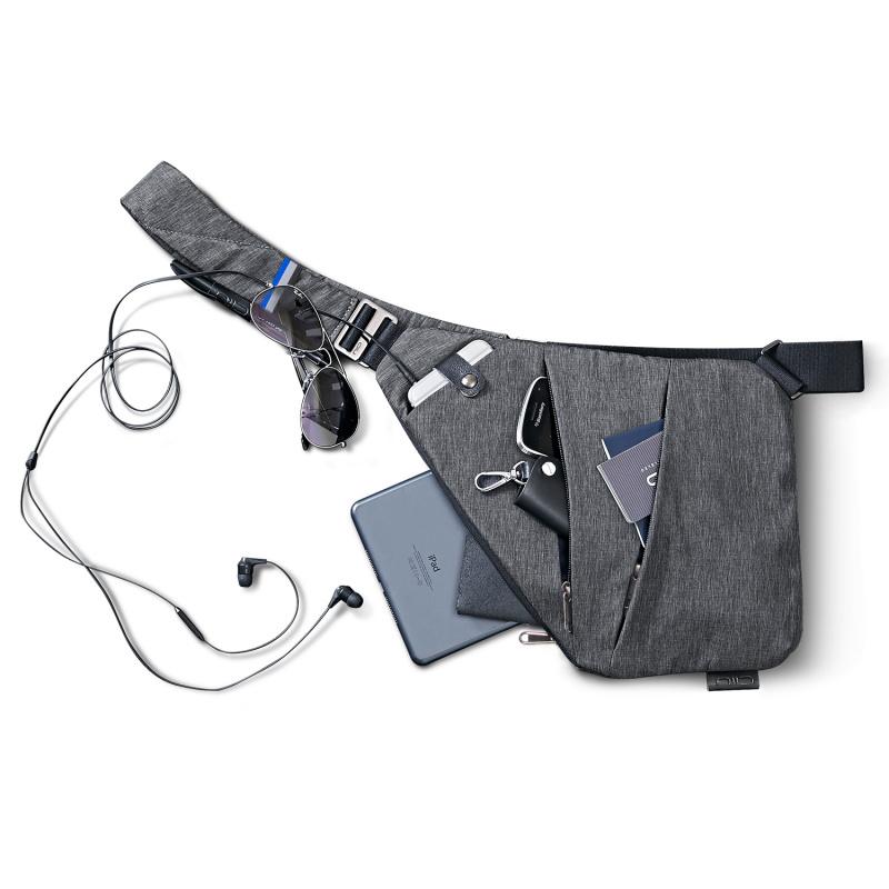 美國NIID FINO 超薄貼身時尚防盜胸包
