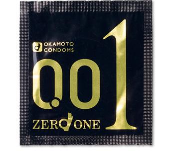岡本 0.01 (日本) 大碼 3片裝 PU安全套