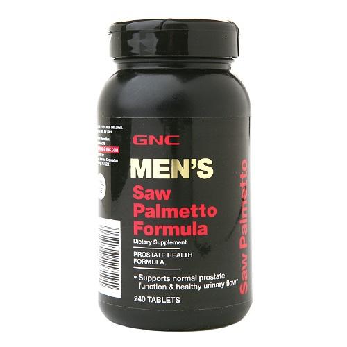 GNC Men's Saw Palmetto Formula 男士鋸棕櫚複合配方 [240粒]