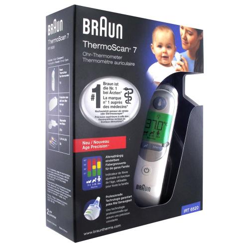 Braun ThermoScan7 紅外線耳溫槍 (IRT6520)