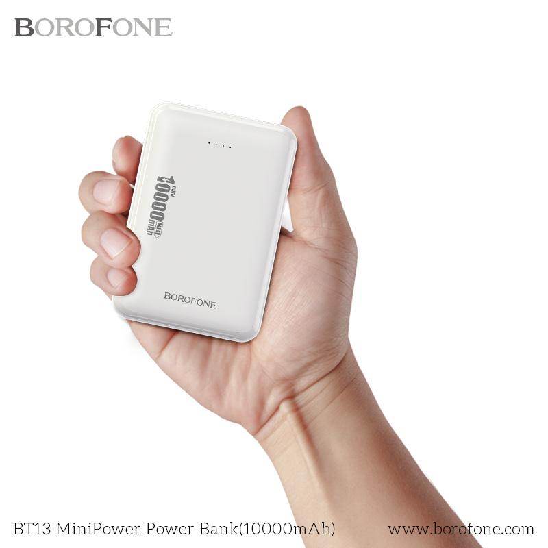 Borofone BT17 10000mAh 迷你移動電源