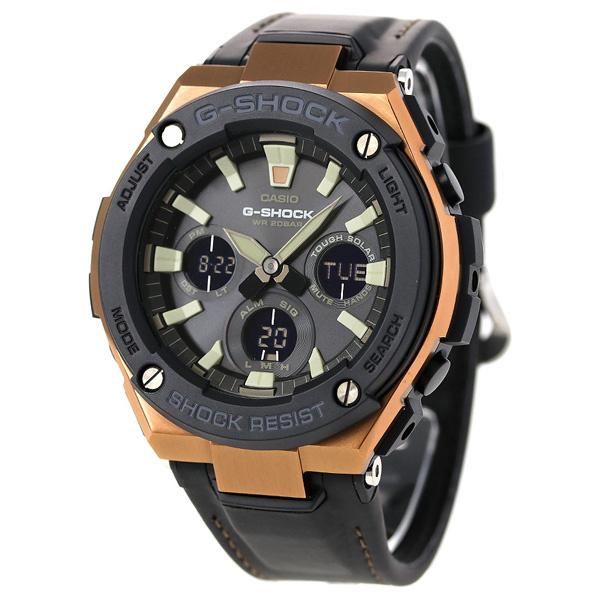Casio G-Shock G-Steel GST-S120L-1A 皮帶手錶