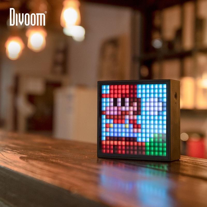 Divoom TimeBox EVO 自訂屏幕多功能藍牙喇叭 [黑色]