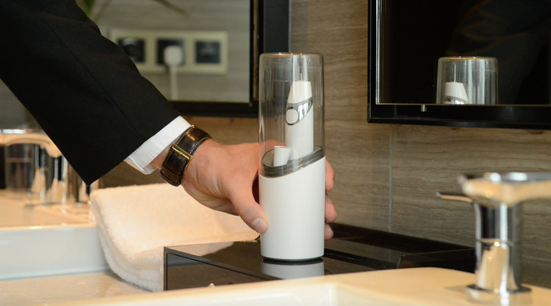 Allegro 2合1 紫外線殺菌聲波電動牙刷杯