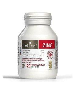 Bioisland 兒童補鋅咀嚼片 ZINC Chewable Tablets (120片)