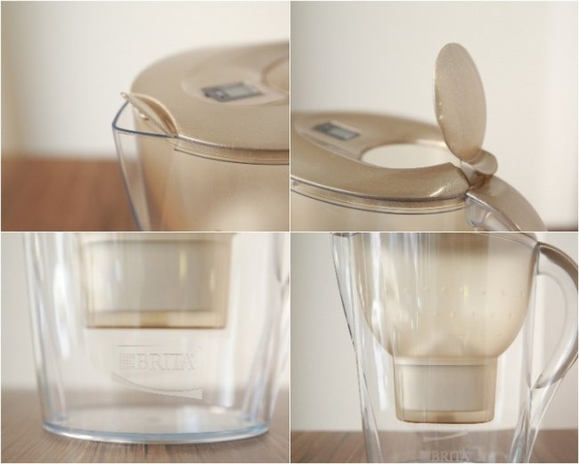 Brita Marella XL 3.5L 五十週年限量版濾水壺 [金色]