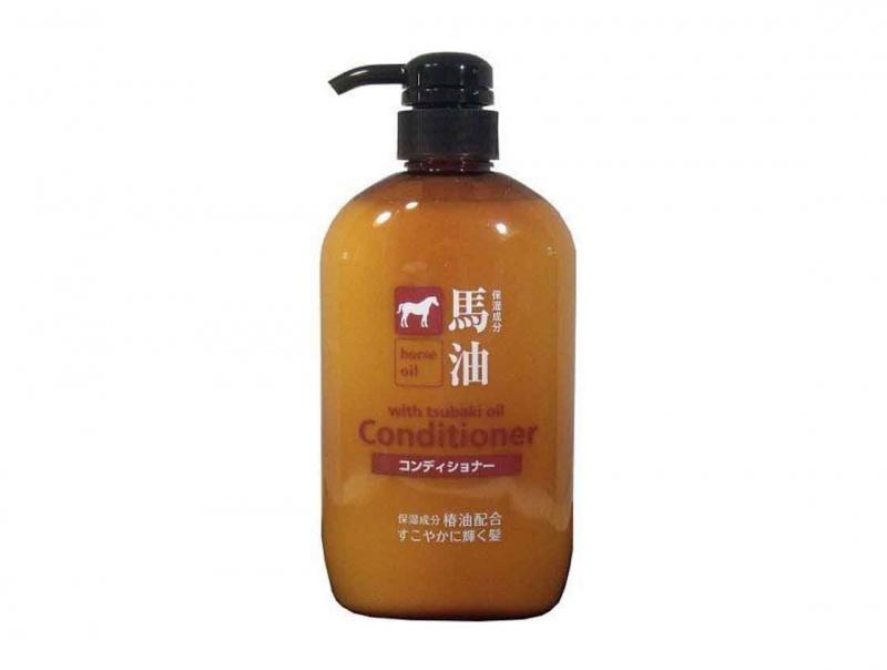 Kumano - 熊野油脂 馬油無矽保濕護髮素 600ml