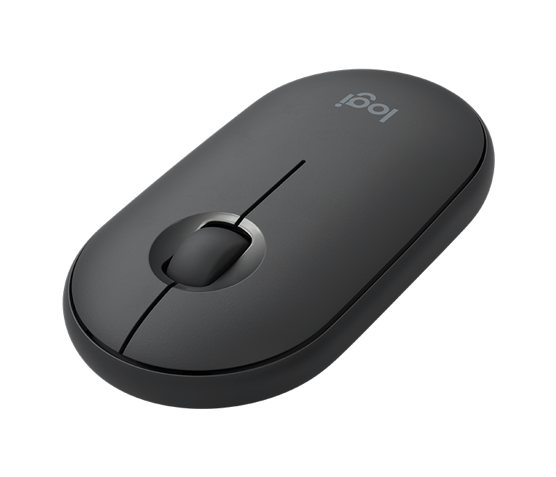 Logitech Pebble M350 (Wireless + Bluetooth 2 in 1) 水貨黑色