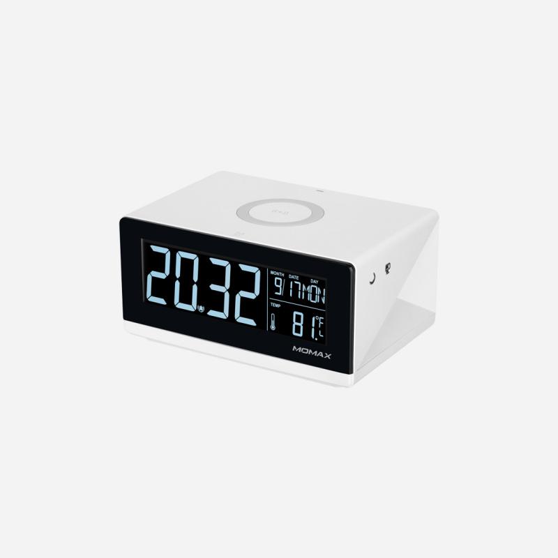 Momax Q.Clock 無線充電子鬧鐘