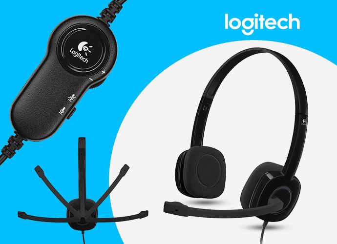 Logitech H151 STEREO HEADSET 多重裝置耳機麥克風