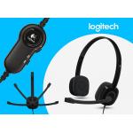 Logitech H151 STEREO HEADSET 多重裝置耳機麥克風 ( PN: 981-000587 )