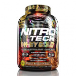 Muscletech NitroTech Whey Gold 肌肉科技乳清蛋白粉 5.53磅裝 [4款]
