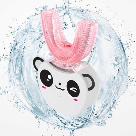 V-White 兒童版360°超聲波免提電動牙刷 [白色]