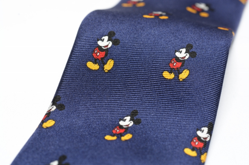 日本Disney 米奇圖案領呔