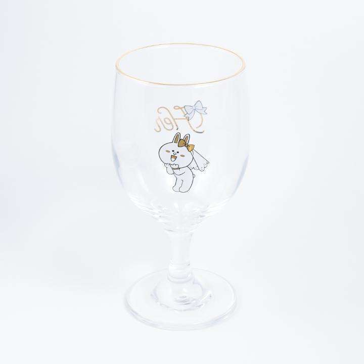 日本Line Friends 熊大玻璃杯 [一對]