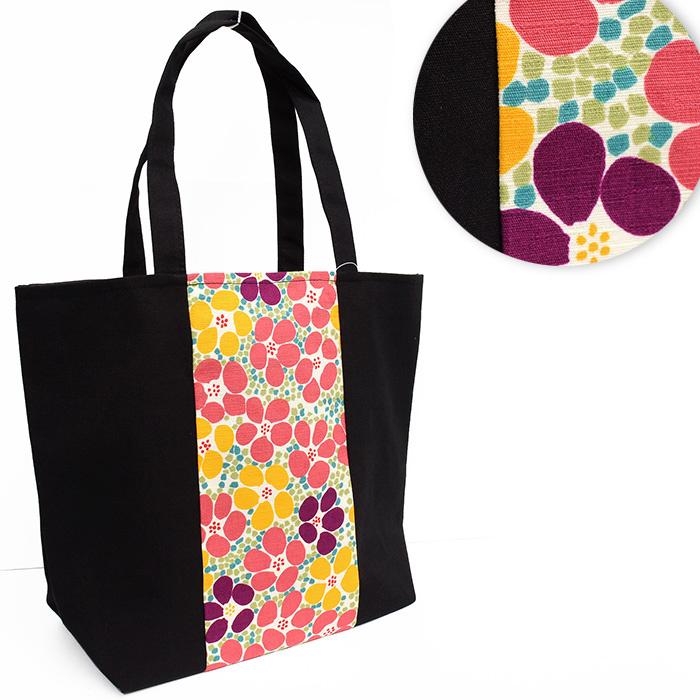 日本和装超軽量花紋袋