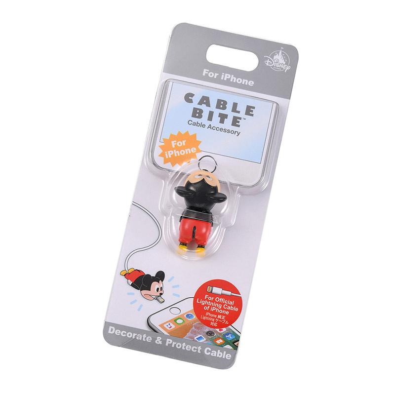 日本Disney 米奇/三眼仔 iPhone Lightning線套 [8款]