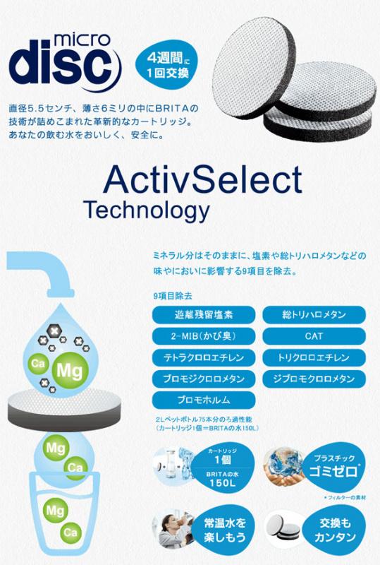 日本BRITA FILL&GO浄水機能水樽 [4色]