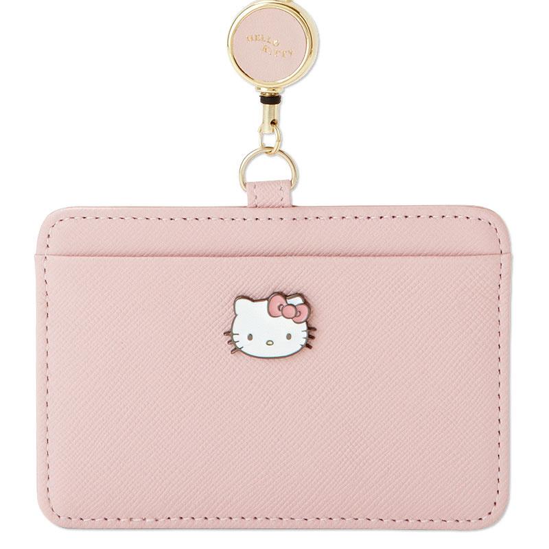 日本SANRIO Hello Kitty 真皮伸縮證件套 [2色]