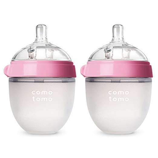 Comotomo 醫院級 矽膠奶瓶 (2支裝) [2色] [2款]