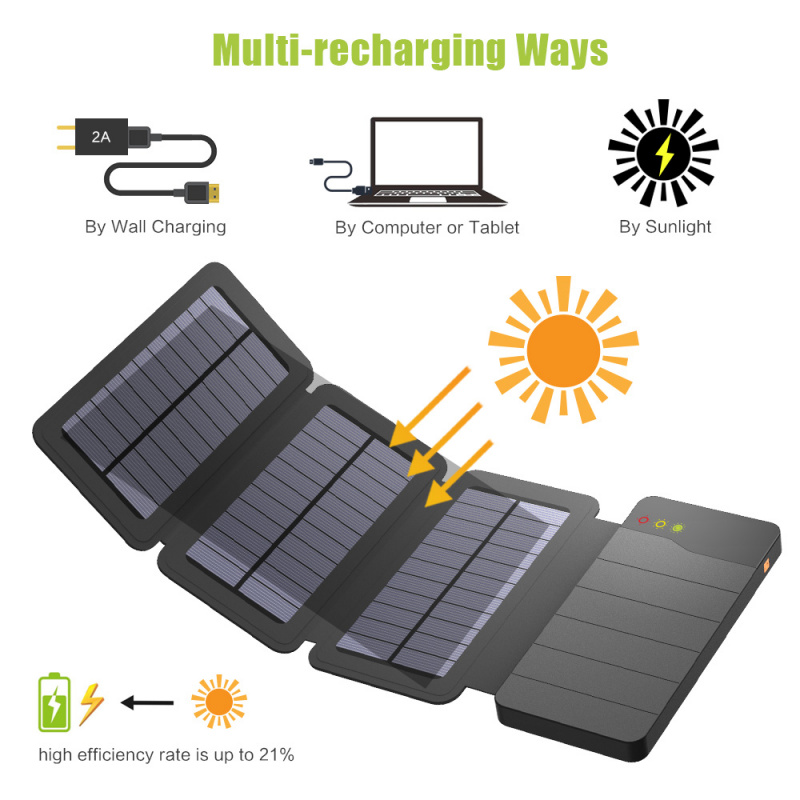 折疊太陽能移動電源 10,000mAh