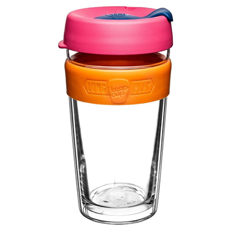 KeepCup LongPlay 雙層玻璃保溫杯 454ml [3色]