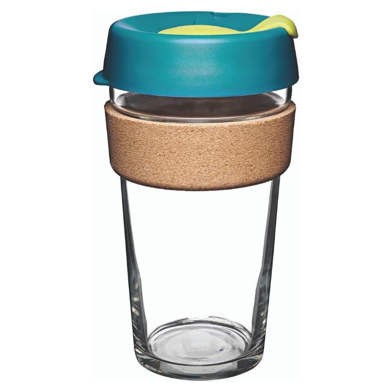 KeepCup Brew Cork 玻璃咖啡杯 340/454ml [4色]