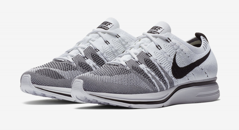 Nike Flyknit Trainer White Black OG [白色]