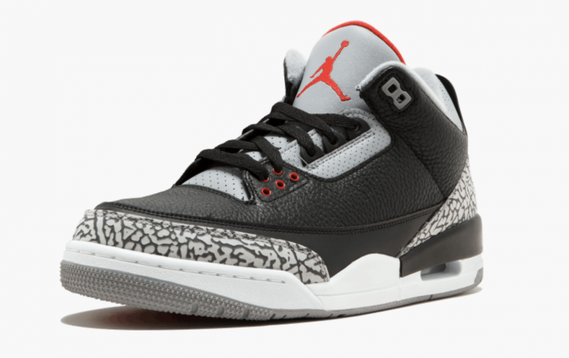 Air Jordan 3 Black Cement 黑水泥 [男裝]