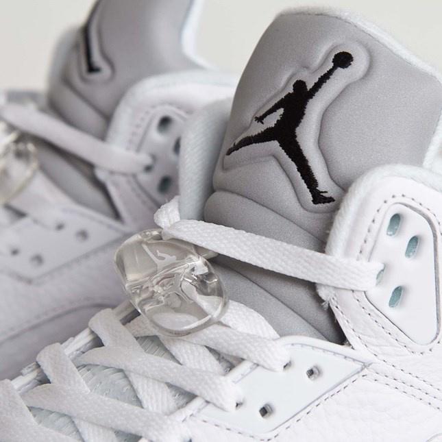 Air Jordan 5 Retro Metallic White [男裝]