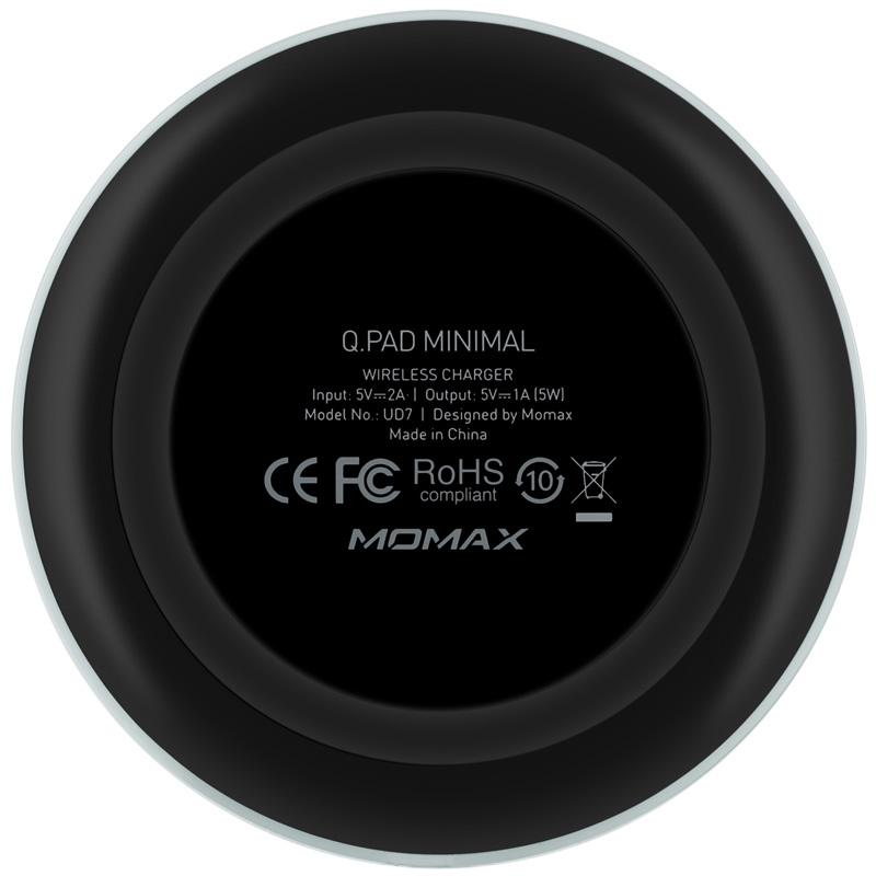 MOMAX Q.Pad Minimal 無線充電器 [黑色]