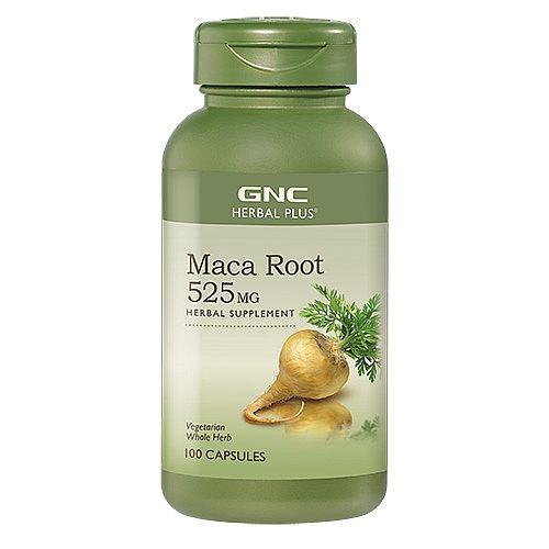 GNC 強效 Maca Root 525mg 瑪卡 根配方 [100粒]