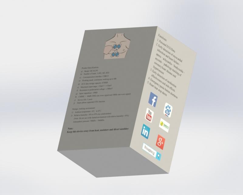 個人心電儀 BISA PECG HC3A250