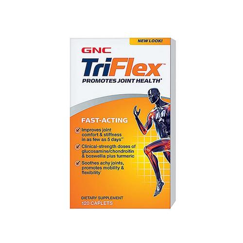 GNC TriFlex 5合1 3倍活速效關節配方120粒