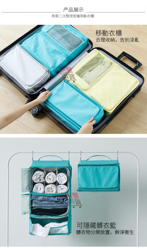 「懶人包」旅行流動衣櫃