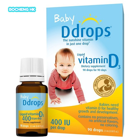 Baby Ddrops 嬰兒維他命D3滴劑