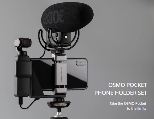 PGYTECH Osmo Pocket Phone Holder Set (OSMO Pocket手機支架)