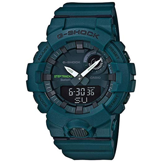 Casio G-Shock G-SQUAD GBA-800-3 城市運動系列藍牙手錶