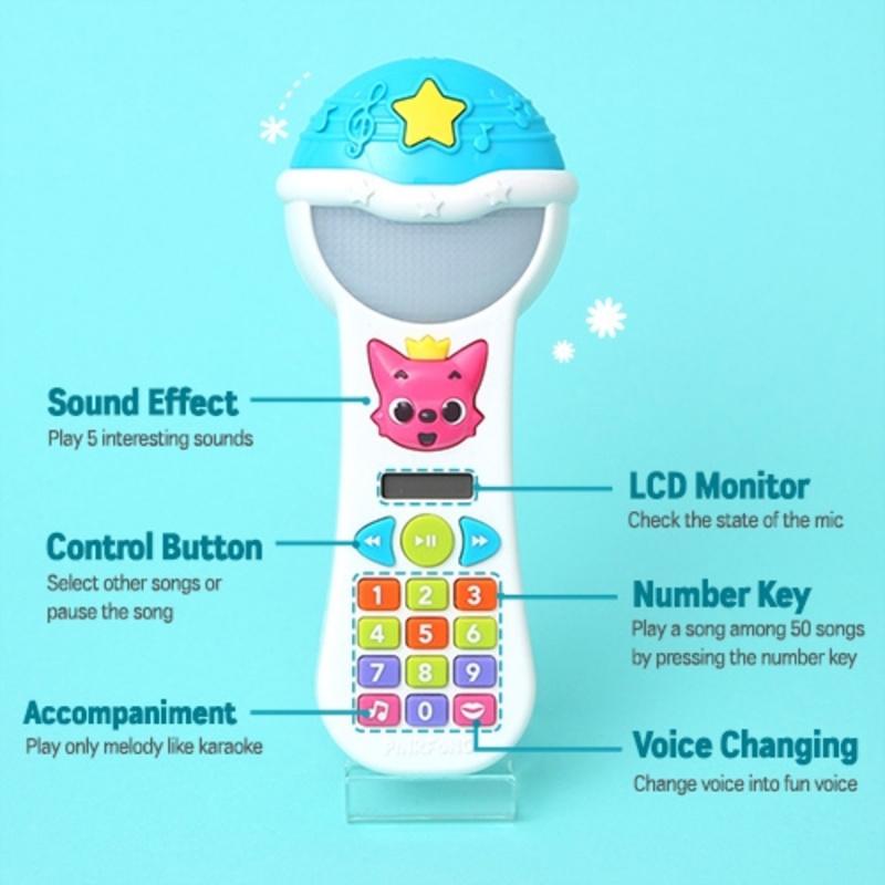 Pinkfong Magic Microphone 英語兒歌學習咪 [英文版]