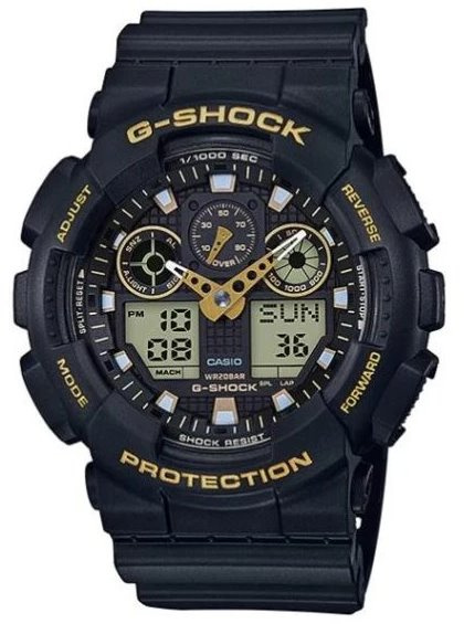 Casio G-Shock GA-100GBX 雙顯手錶 [2色]