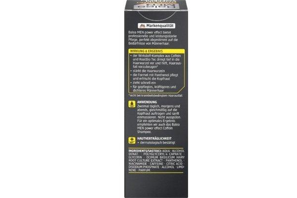 德國 Balea 芭樂雅男士 咖啡因防脫髮Rootbio Tec活力護髮液 150ml【市集世界 - 德國市集】